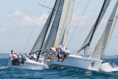 Day 4- Arethusa at the windward mark.